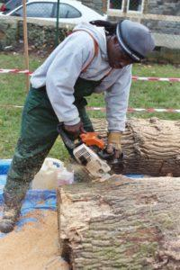 chainsaw noise causes tinnitus